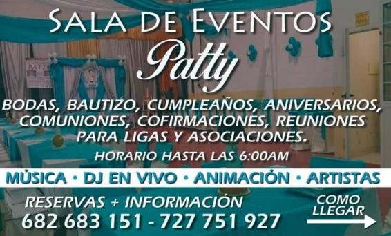 Salón de eventos Patty
